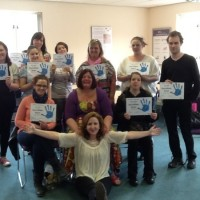 Fantastic STOP Parenting Group with their well-earned Certificates!